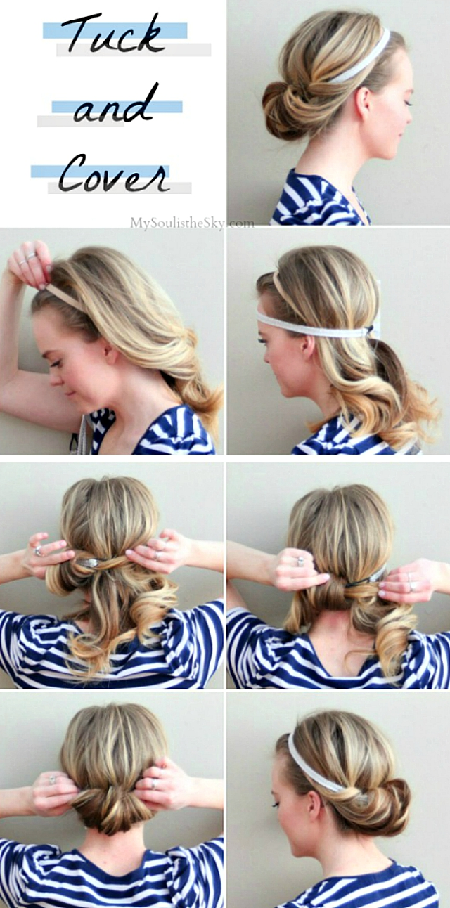 прически на седние волосы в домашних условиях за 5 минут