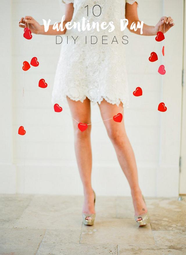 10 Valentines Day DIY Inspiration