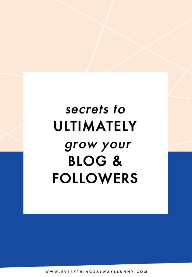 How to Grow Your Blog and Followers